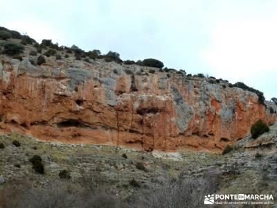 Hoces y cañones del Río Piedra y del Río Gallo -- Laguna Gallocanta  - Fotografía naturaleza;sen